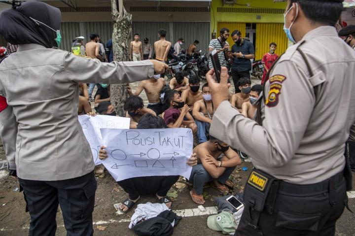 Demo Ricuh di Palembang, 499 Orang Ditangkap dalam 2 Hari