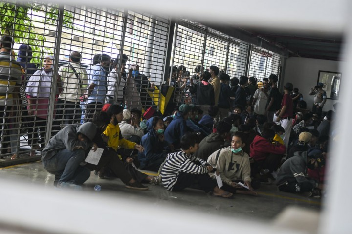 Rusuh Unjuk Rasa, 1.192 Orang Diamankan Polda Metro Jaya