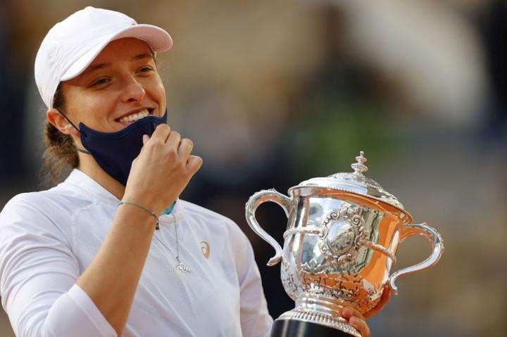 Swiatek Juara Tunggal Putri French Open