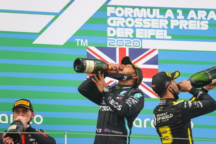 Juara GP Eifel, Hamilton Samai Rekor Michael Schummacher
