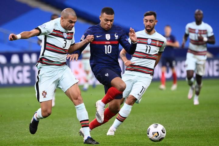 Imbang Lawan Prancis, Portugal Masih Puncaki Group A3