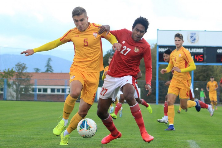 Timnas U-19 Tekuk Macedonia Utara 4-1