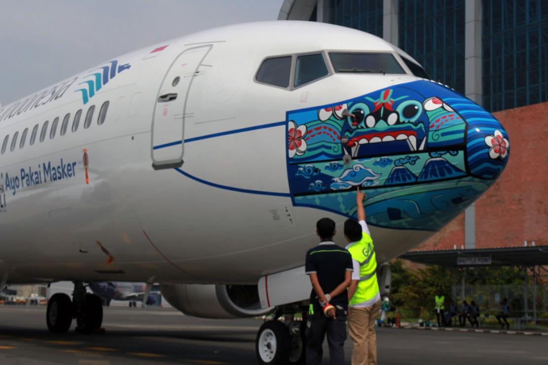 Garuda Indonesia Luncurkan Desain Livery Masker Terbaru di ...