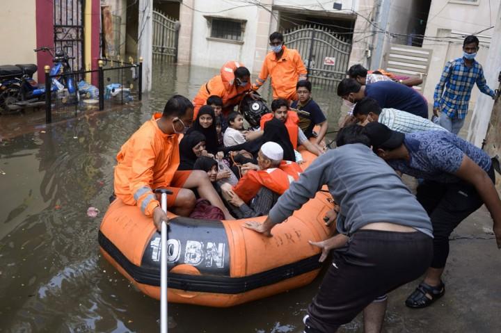 Hujan Ekstrem di India Selatan Tewaskan 30 Orang