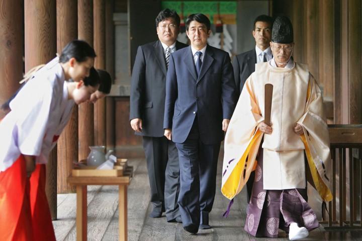 PM Jepang Kirim Persembahan ke Kuil Kontroversial Yasukuni