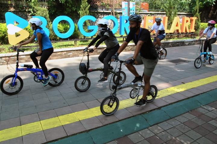 Pedestrian Kebun Raya Bogor Kembali Dibuka