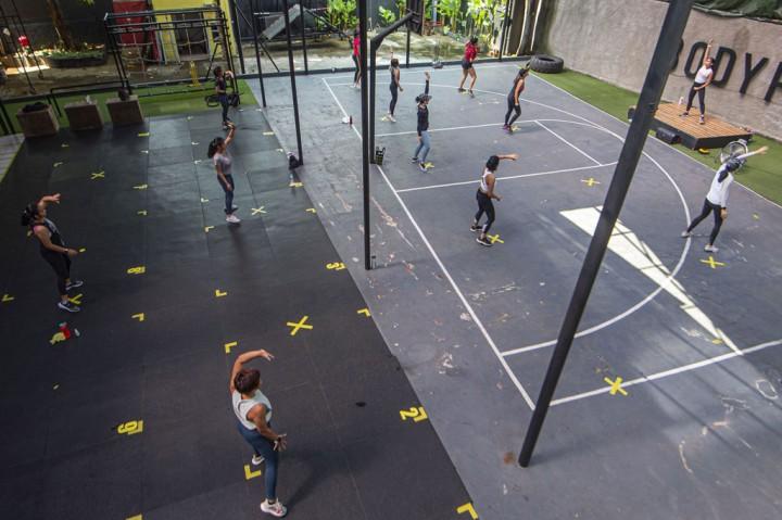 Pusat Kebugaran di Jakarta Kembali Bergeliat