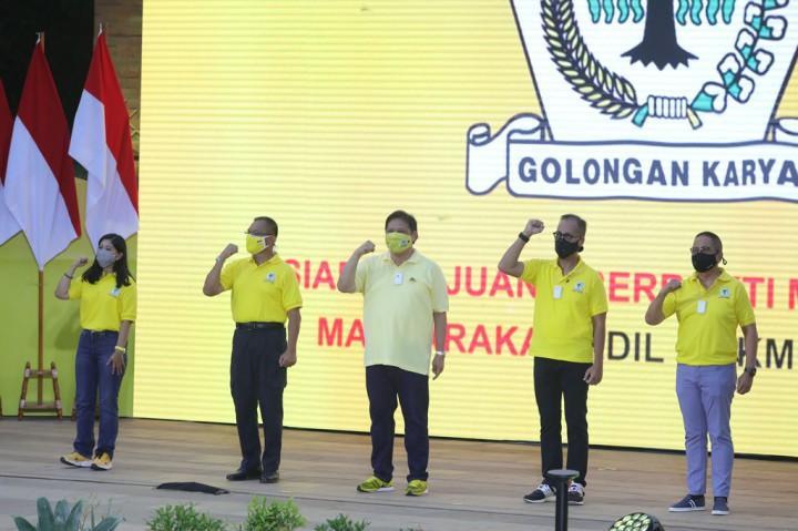 Partai Golkar Resmikan Gerakan 3M