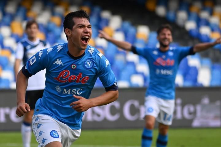 Liga Italia: Napoli Tekuk Atalanta 4-1