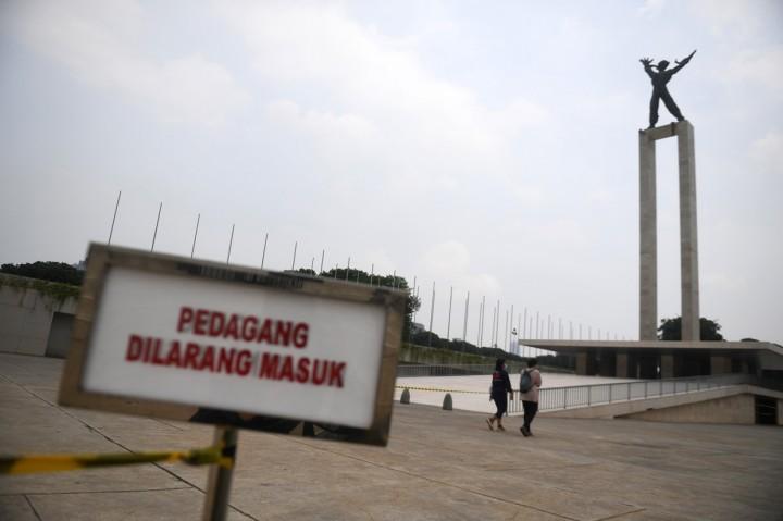 16 Taman Kota Jakarta Kembali Dibuka