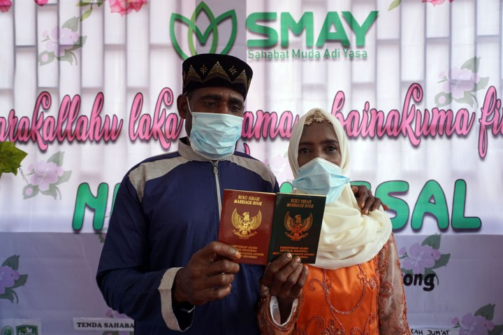 10 Pasangan Muslim Asli Papua Ikuti Nikah Massal