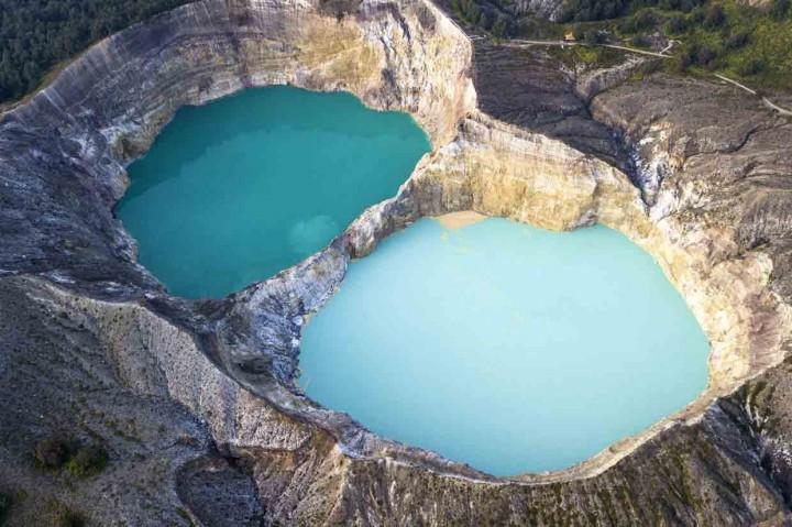Pesona Danau Kelimutu di Ende Flores