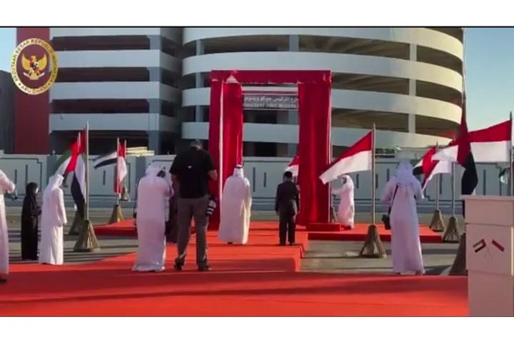 Nama Presiden Jokowi Diabadikan Jadi Nama Jalan di Abu Dhabi