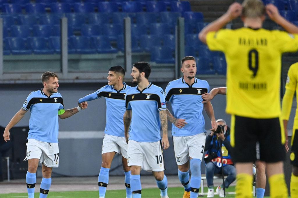 Lazio vs Dortmund: Si Elang Menang 3-1 atas Tamunya ...