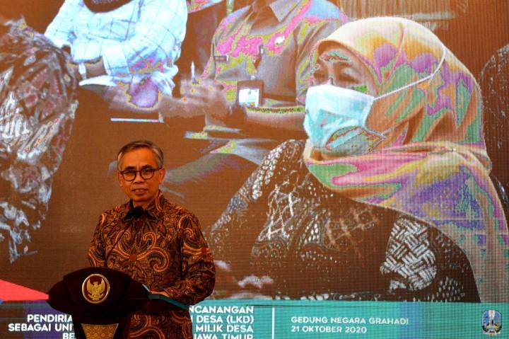 OJK dan Kemendes PDTT Canangkan Pendirian Lembaga Keuangan Desa