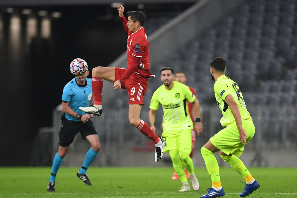 Bayern vs Atletico: Die Roten Menang Telak 4-0 - Medcom.id