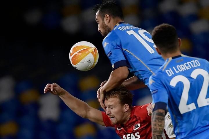 Napoli vs AZ Alkmaar: Il Partenopei Takluk 0-1