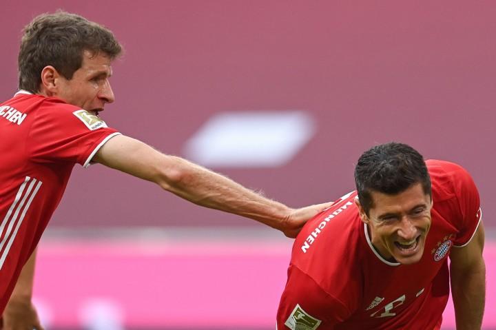 Bayern Muenchen vs Eintracht Frankfurt, Die Roten Menang 5-0