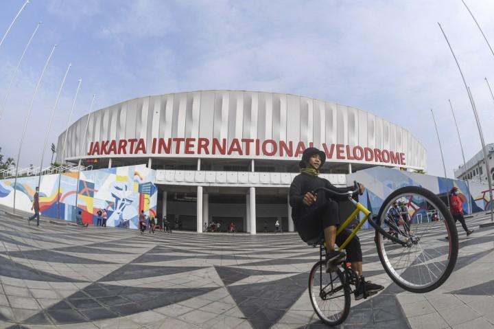 Antusiasme Warga Olahraga di JIV yang Kembali Dibuka