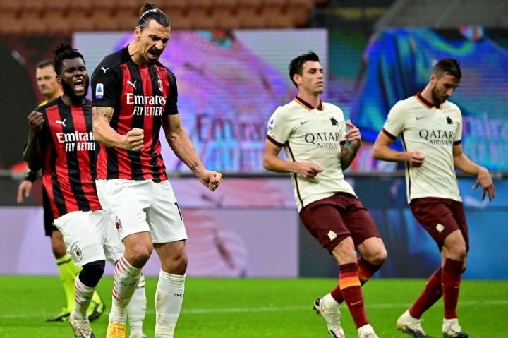 AC Milan Ditahan AS Roma 3-3