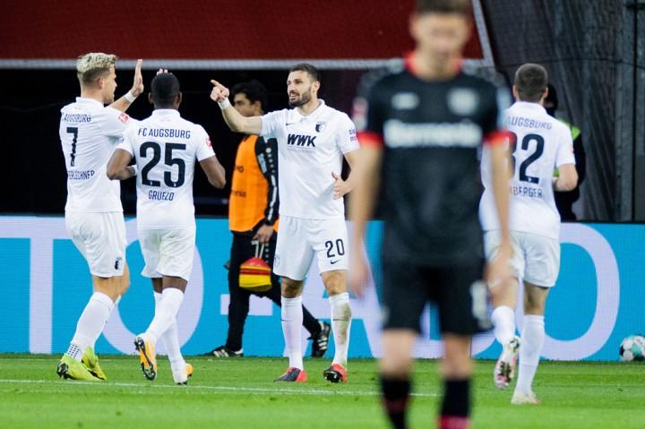 Leverkusen vs Augsburg: Tuan Rumah Menang 3-1