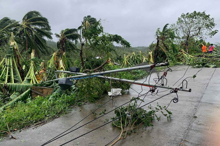 Topan Molave Terjang Filipina, Tiga Orang Meninggal