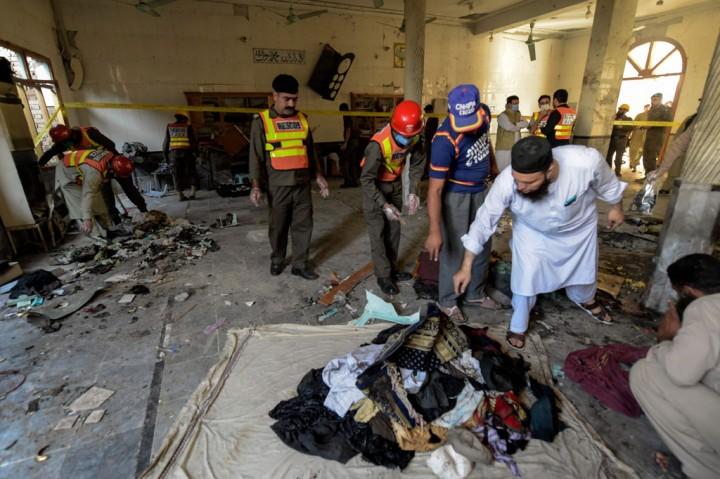 Bom Guncang Madrasah di Pakistan, Tujuh Orang Meninggal