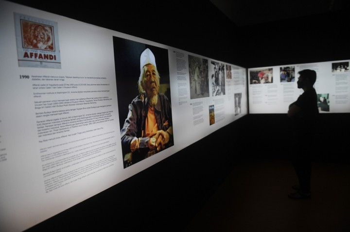 Galeri Nasional Gelar Pameran Imersif Affandi
