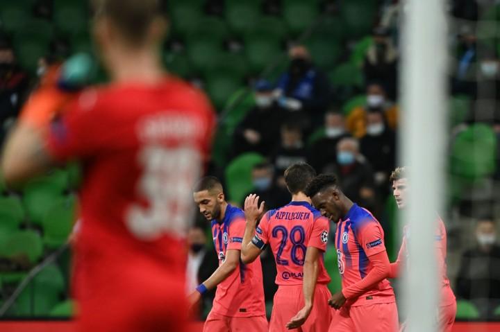 Liga Champions: Chelsea Tekuk Krasnodar 4-0