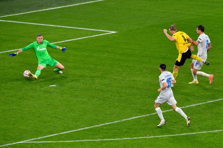 Sancho dan Haaland Bawa Dortmund Menang 2-0 Atas Zenit