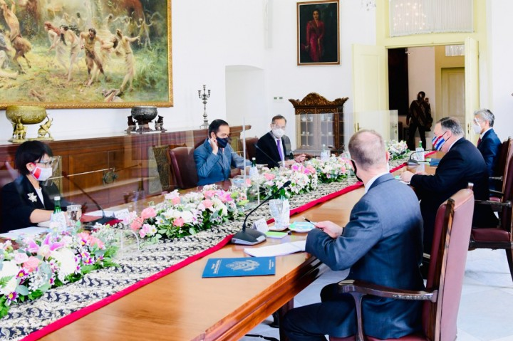 Bertemu Menlu AS, Jokowi Ingin Kerja Sama Pertahanan-Ekonomi