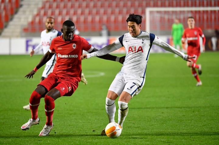 Liga Europa: Tottenham Tergelincir di Kandang Antwerp