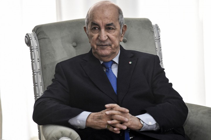 Presiden Aljazair Positif Covid-19