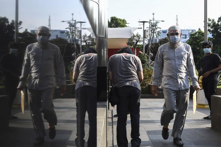 Aktor Rudy Wahab Diperiksa KPK Soal Kasus Eks Bupati Bogor