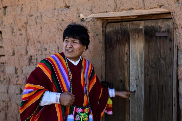 Kembali dari Pengasingan, Evo Morales Kunjungi Rumah Kelahiran