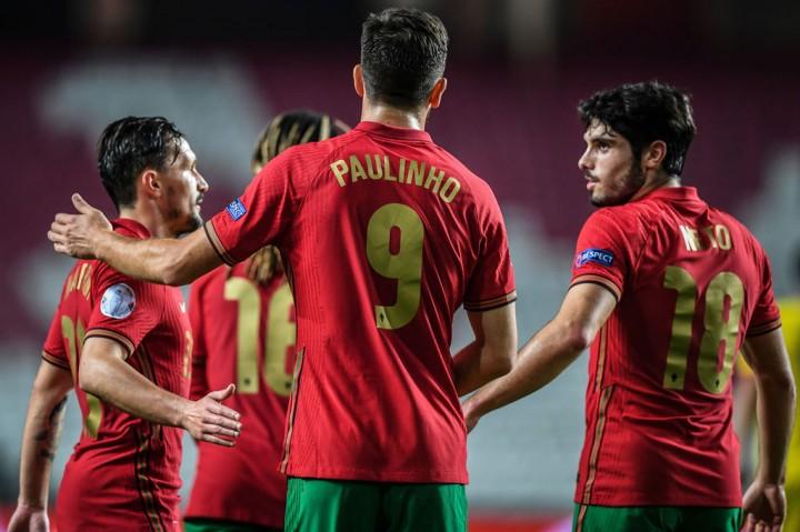 Portugal Pesta Tujuh Gol ke Gawang Andorra