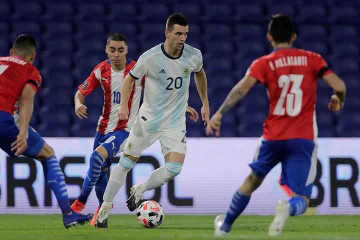 Kualifikasi Piala Dunia 2022: Argentina Diimbangi Paraguay 1-1