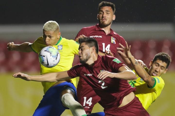 Brasil vs Venezuela: Firmino Bawa Tim Samba Menang 1-0