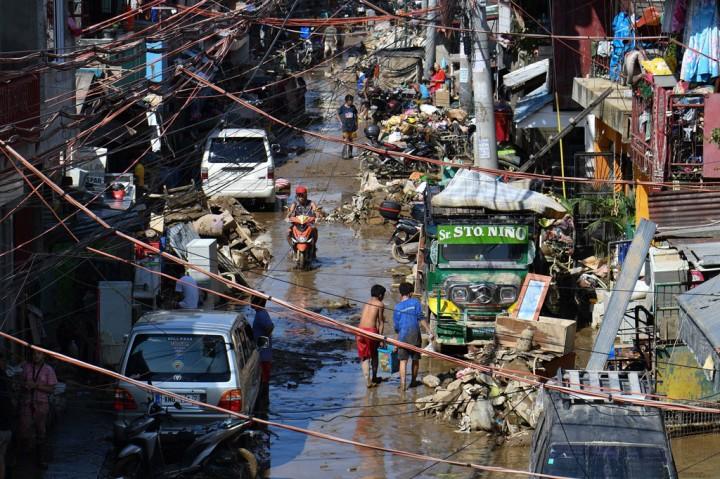 Potret Kondisi Filipina Pascaditerjang Topan Vamco