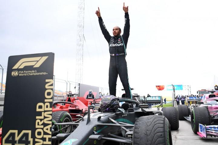 Menang GP Turki, Lewis Hamilton Juara Dunia F1 2020