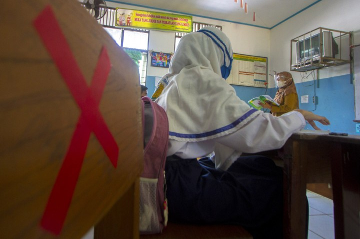 Banjarmasin Gelar Simulasi Belajar Tatap Muka di Empat SMP