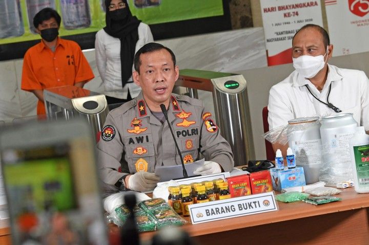 Polri Ungkap Kasus Produk Farmasi Ilegal di Klaten