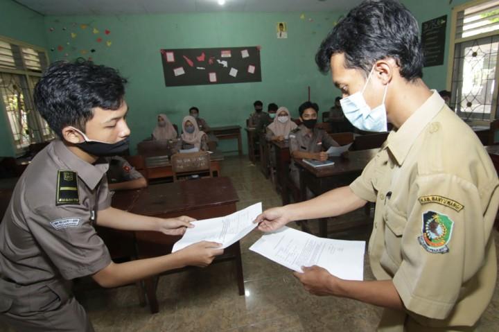 57 SMA/SMK di Banyuwangi Uji Coba Sekolah Tatap Muka