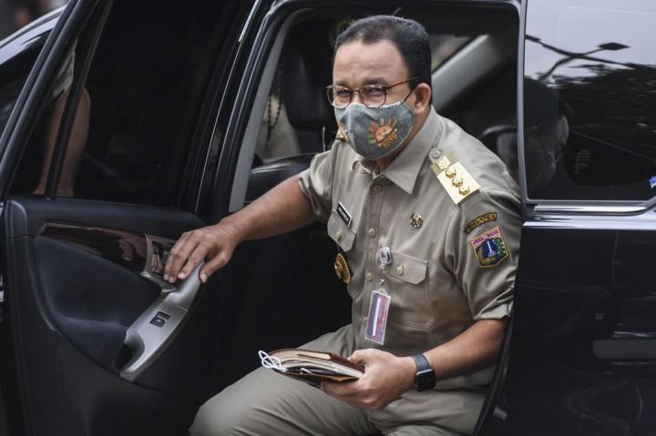 Anies Penuhi Panggilan Polisi Terkait Kerumunan Acara HRS
