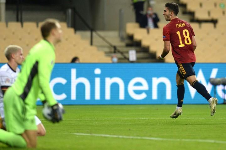 UEFA Nations League: Spanyol Gilas Jerman 6 Gol Tanpa Balas