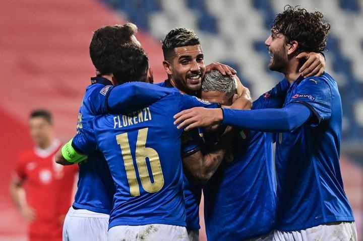 UEFA Nations League: Menang 2-0 Atas Bosnia, Italia Lolos ke