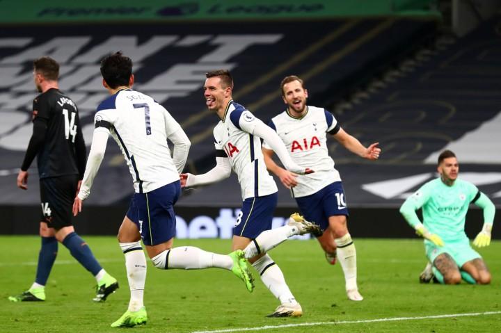 Bungkam Man City 2-0, Tottenham Hotspur Puncaki Klasemen Liga
