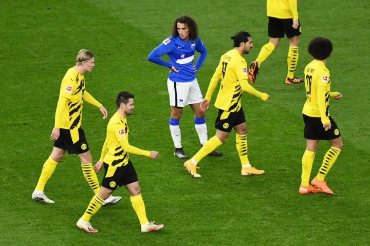 Haaland Cetak Quattrick, Dortmund Tekuk Hertha Berlin 5-2