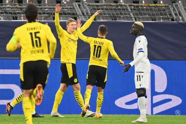 Liga Champions: Haaland Bawa Dortmund Jinakkan Brugge 3-0