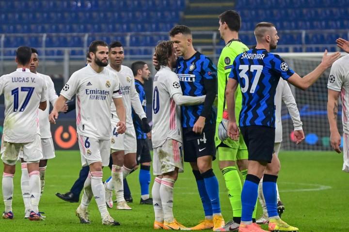 Liga Champions: Real Madrid Tundukkan Inter Milan di Giuseppe